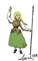 Bunad Warrior