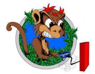 Monkey Logo by kalamate