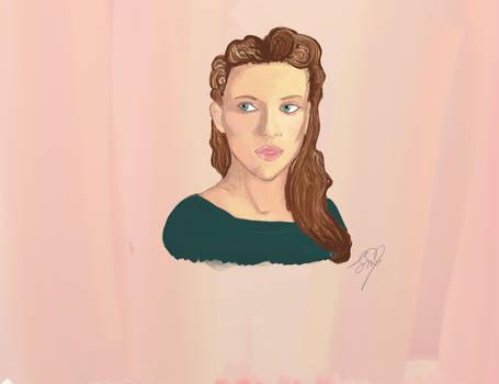 Scarlett Johansson Portrait ~