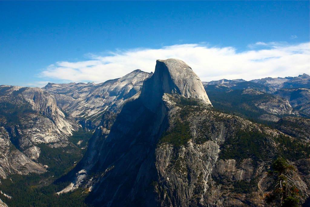 Yosemite (Half Dome) by Mischi3vo