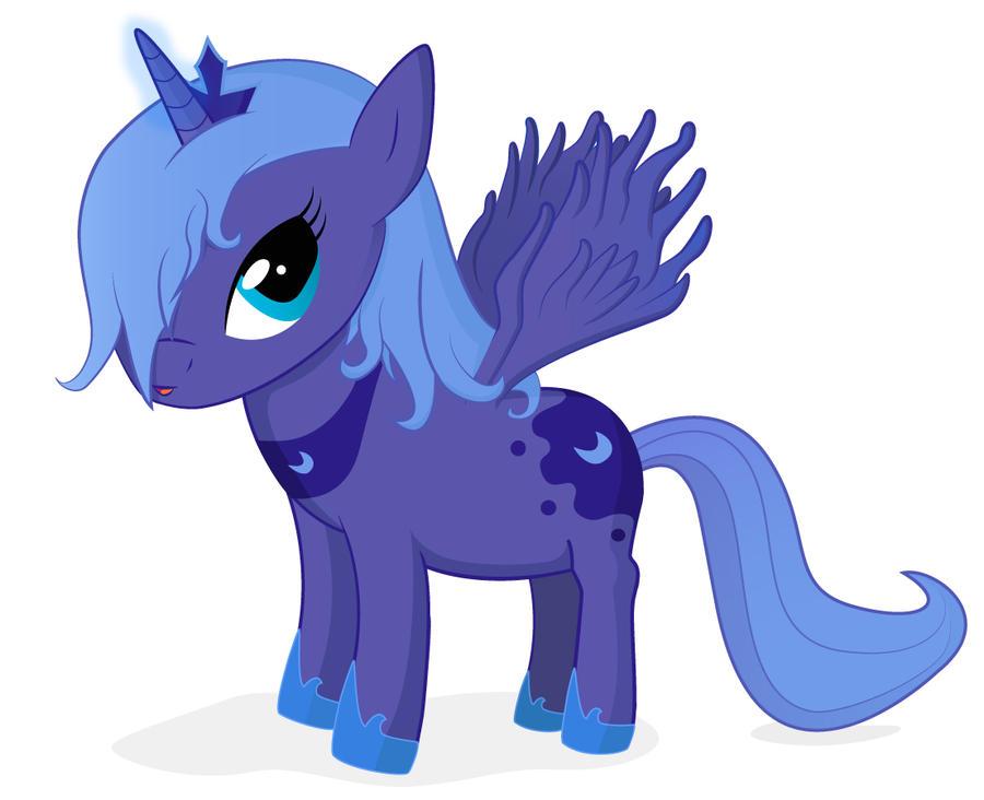 My little pony filly luna - photo#15