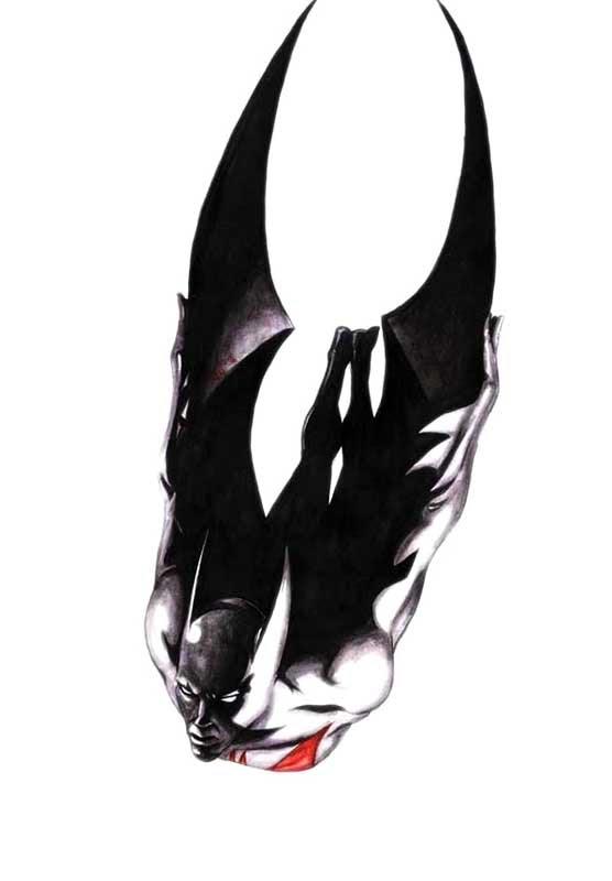 Batman DO Futuro by muttfischer