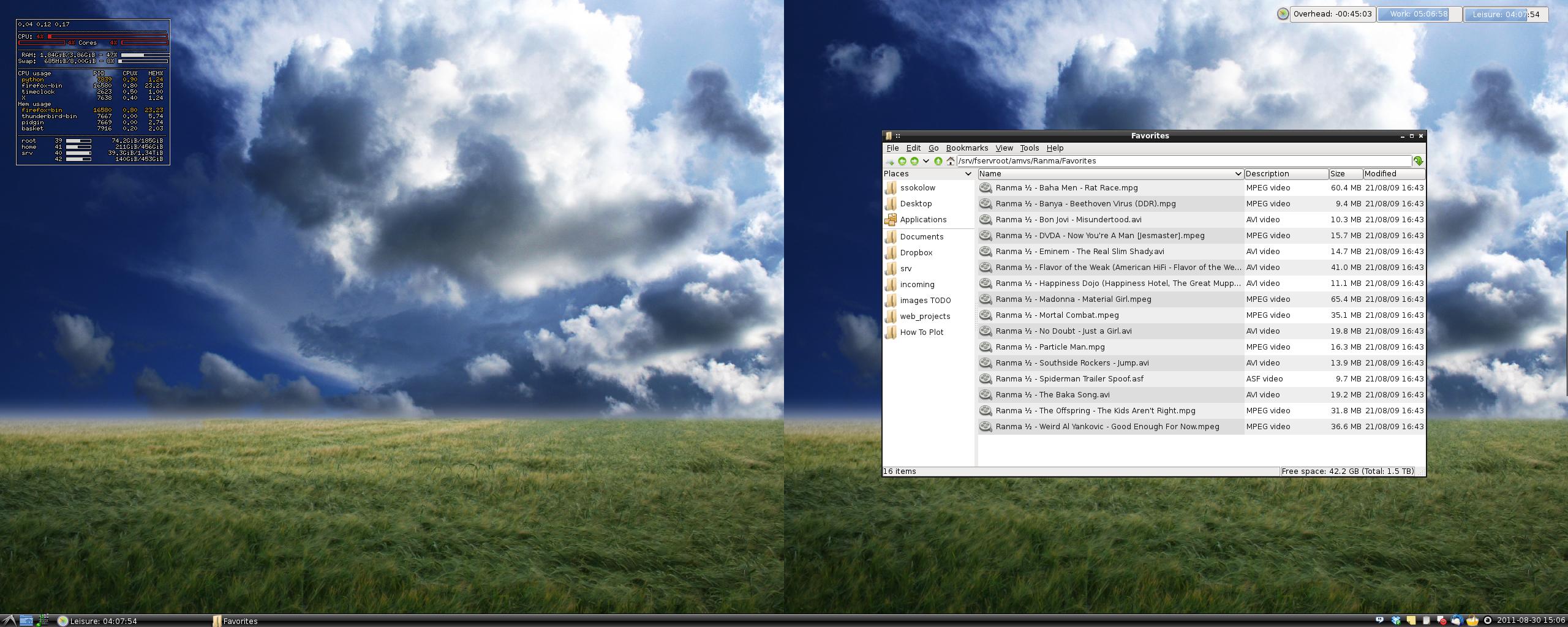 LXDE 0.5.0 Desktop - Clean