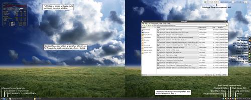 LXDE 0.5.0 Desktop - explained by ssokolow