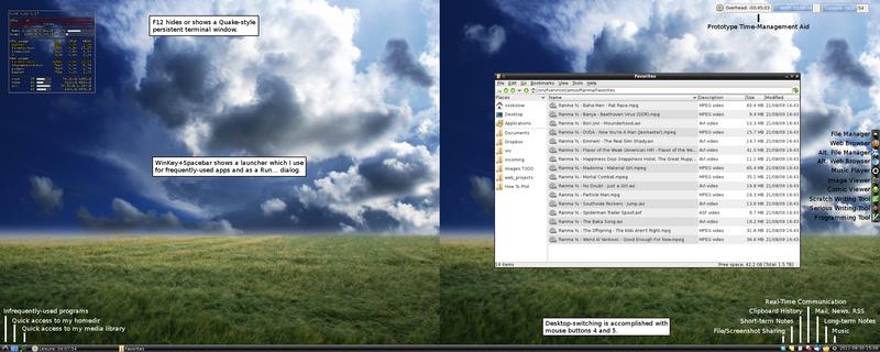 LXDE 0.5.0 Desktop - explained