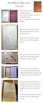 Small Book Alternation Tutorial by Artistically-DE