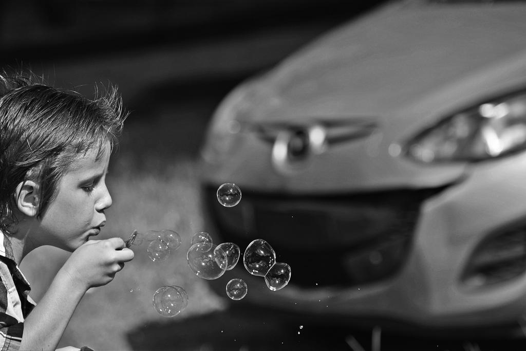 bubble boy by SemioticPhotography