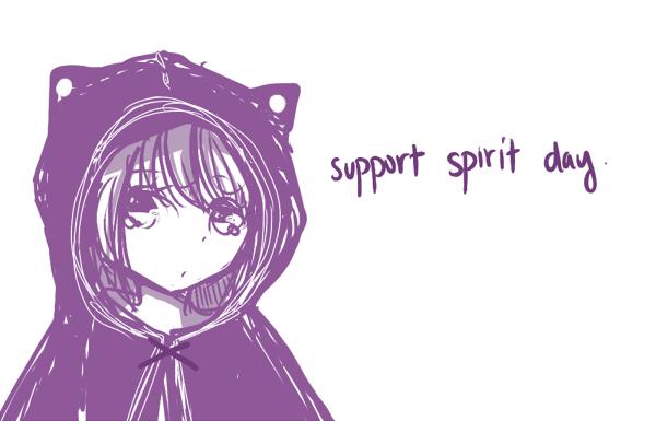 spirit day by Mairmair-chan