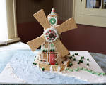 Gingerbread Windmill