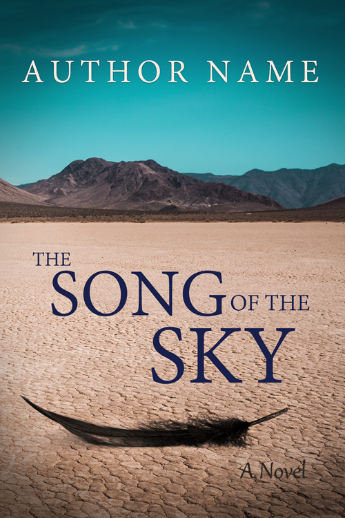 The Song of the Sky - Premade Book Cover by HollyHeisey