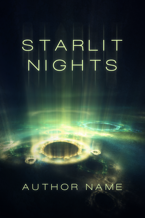Starlit Nights - Premade Book Cover by HollyHeisey