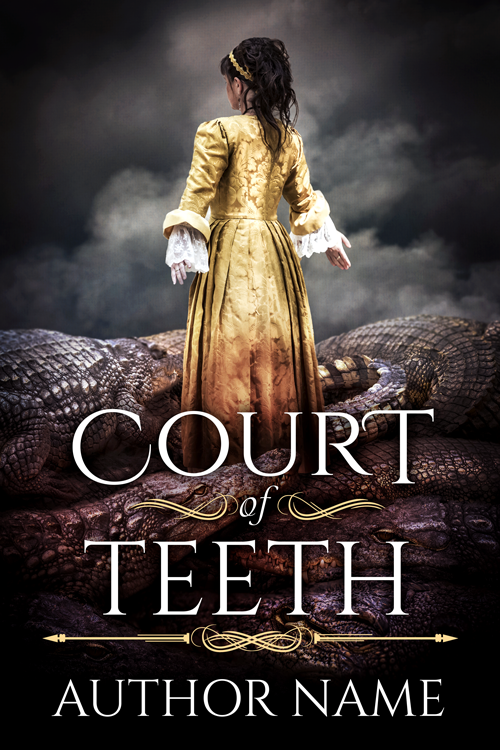Court of Teeth - Premade Book Cover by HollyHeisey
