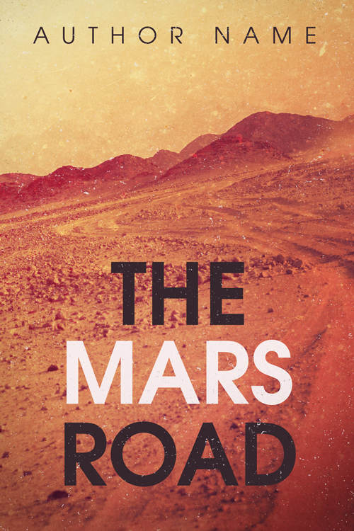 Premade Book Cover - The Mars Road by HollyHeisey