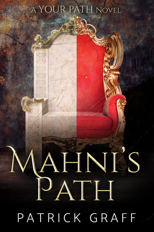 Mahni's Path - Book Cover by HollyHeisey