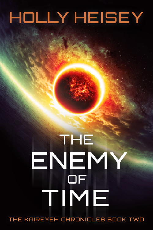 The Enemy of Time - Book Cover by HollyHeisey