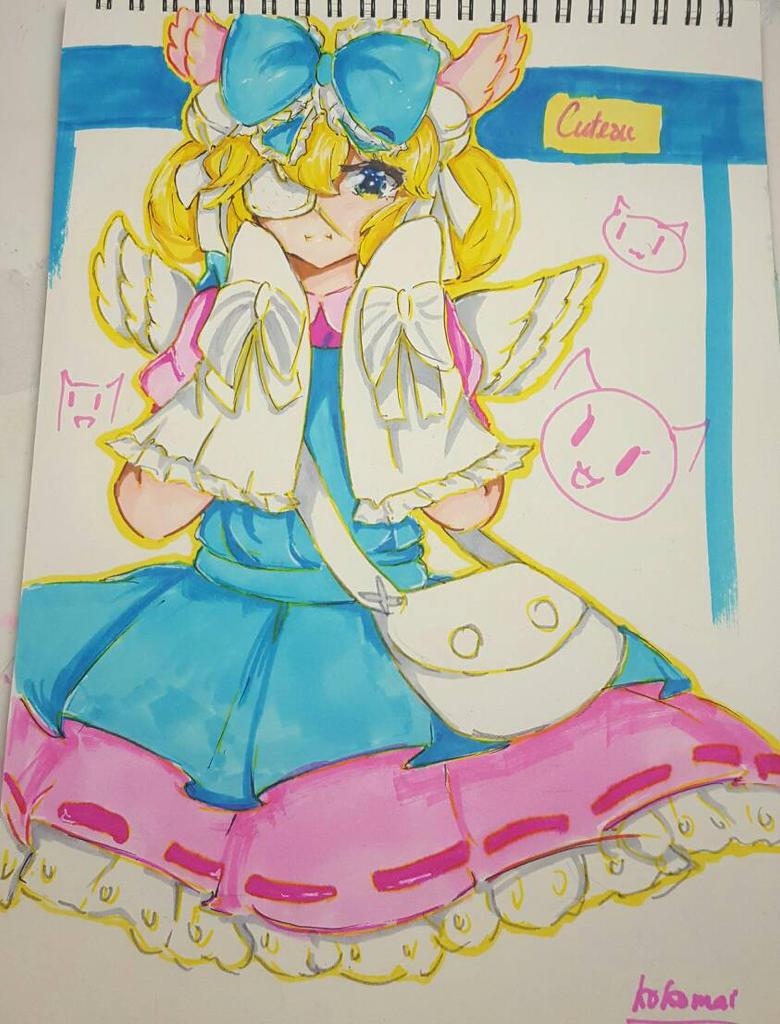 [FULL MARKER COLOR] Cutesu fanart by Moetei