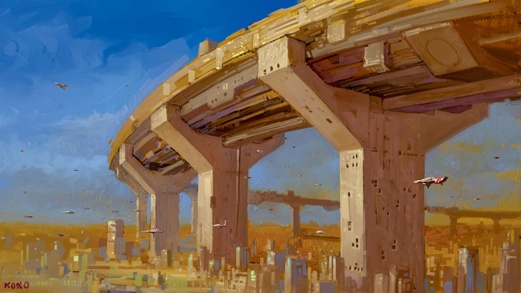 Megahighway by sillikone