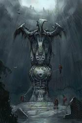 Scifi Totem by sillikone