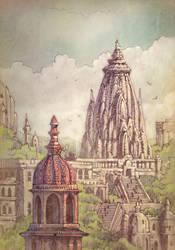 Udaipur by sillikone