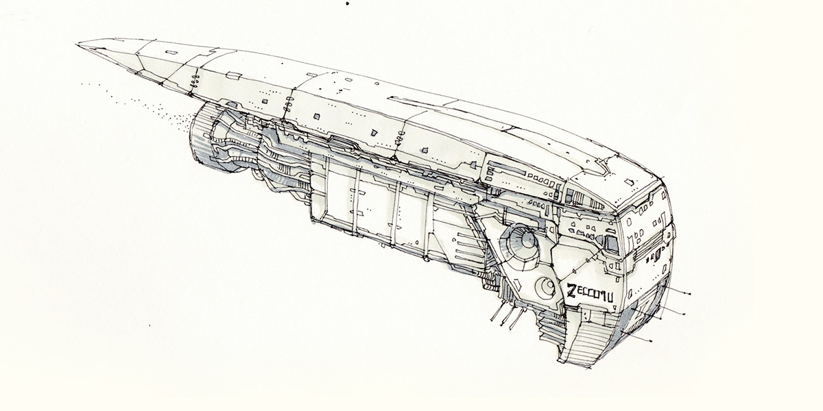 Space-freighter-sketch