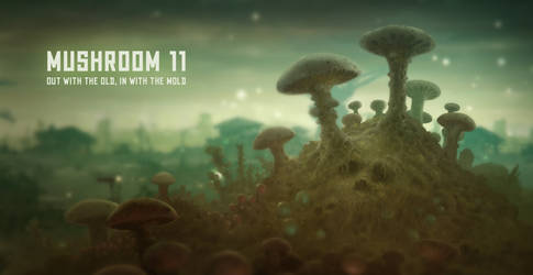 Mushroom 11 poster by sillikone