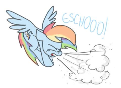 Just A Dash of Spray