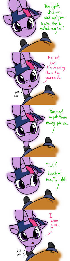 Twi And Anon: Wuv