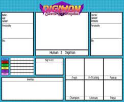 Digimon - SoC: Application Sheet