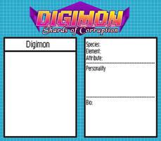 Digimon - SoC: Digimon NPC Character Sheet