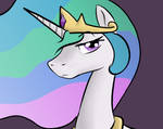 Celestia is not Impressed