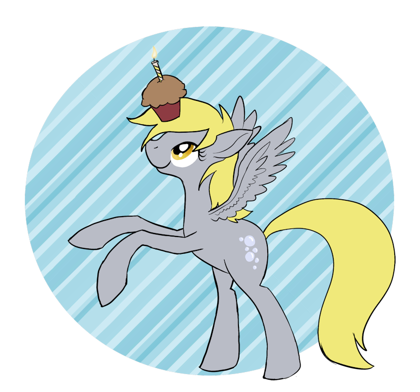 Brought you a muffin by Enma-Darei