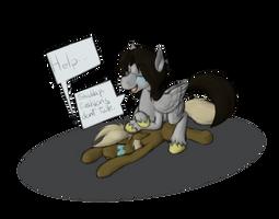 Cushion Pony by Enma-Darei