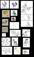 Sketch Dump by Enma-Darei