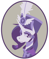 Sgt Rarity [Sticker Available] by Enma-Darei