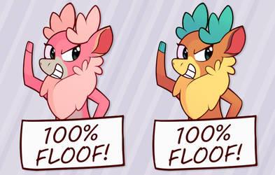 100% Floof! by Enma-Darei
