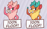 100% Floof! [Stickers Available!]