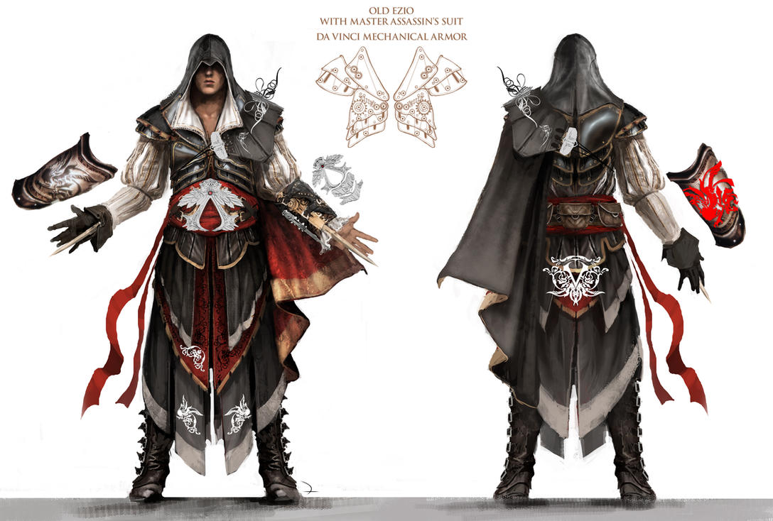 Which Of The Main Assassin S Have The Best Robes Assassin S