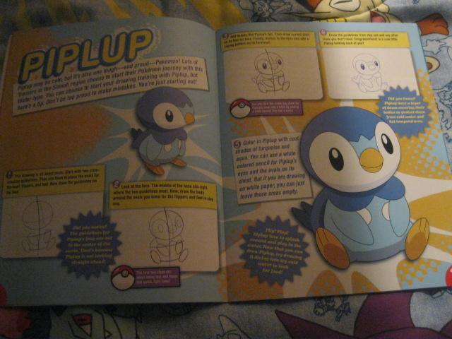 Pokemon how to draw book part 3 by splashingbuizel