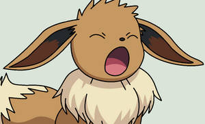 Yawning Eevee Base by ZwolfieLove