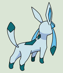 Glaceon Looking Base by ZwolfieLove