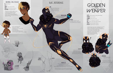 Golden Weaver- Spiderverse [REF] by andr0nap