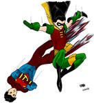 Robin III and Superboy