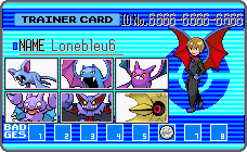 PKM Trainer ID by lonebleu6
