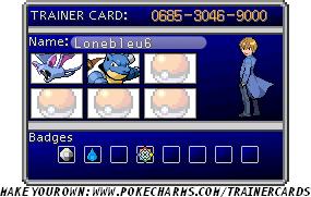 new PKM Trainer ID by lonebleu6