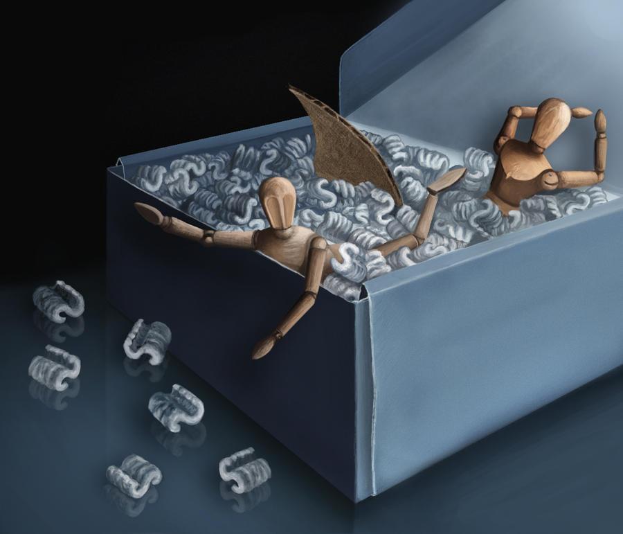 Box Still Life by Verenth