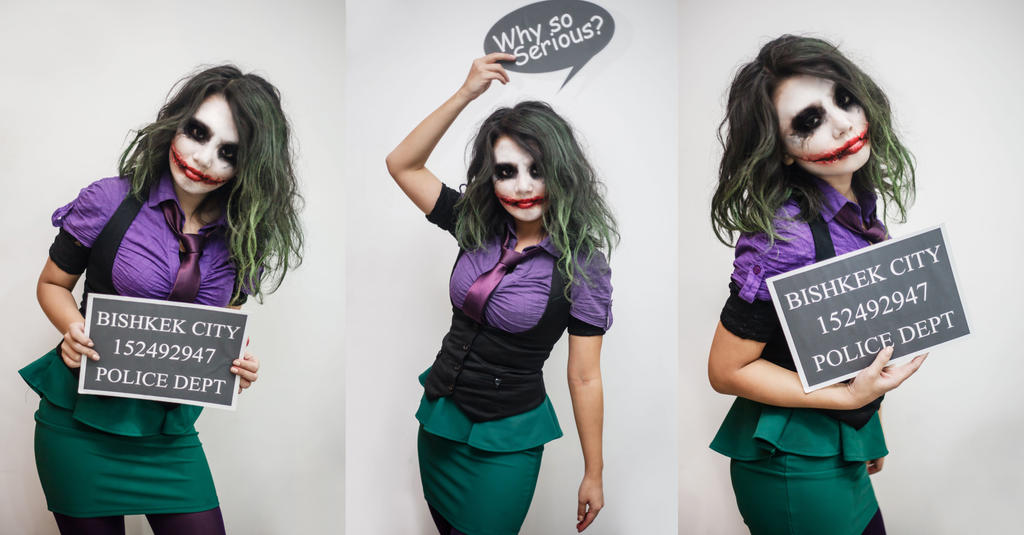 Joker by DarknessUniverse ...  sc 1 st  DeviantArt : girl joker costumes  - Germanpascual.Com
