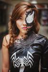 Venom cosplay