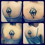 Skyrim inspired tattoo