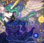 MLP: Princess Celestia and Princess Luna