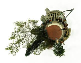 Mini Planet - Ann Arbor by electricjonny